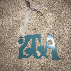 ZTA Hanging Letters Wall Decor